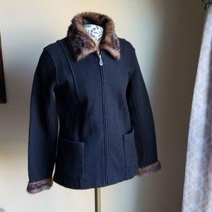 100% wool blazer